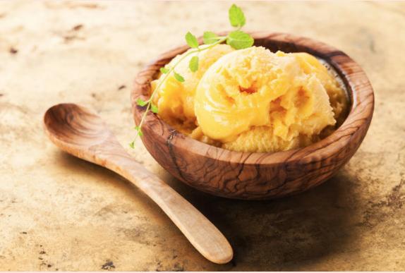 Mango Frozen Yogurt Ice Cream