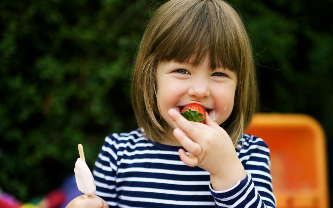 Celebrate National Picnic Month with picnics & ice lollies!