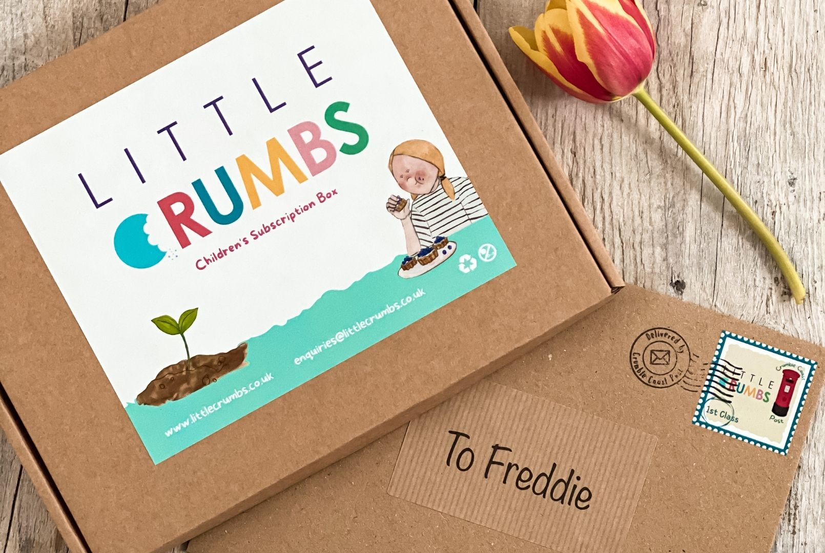 Little Crumbs boxes
