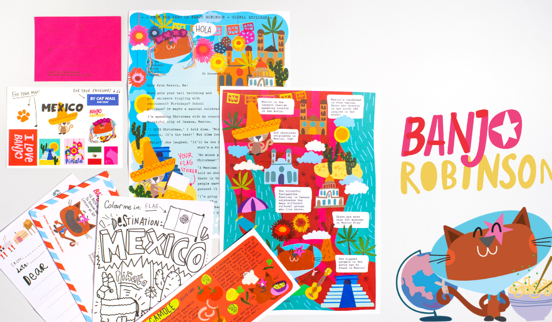 Embark on a FREE magical adventure with Banjo Robinson this summer!